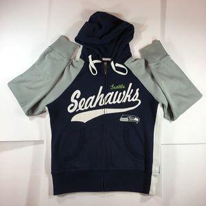 Seattle Seahawks Full Zip Sweatshirt Hoodie
